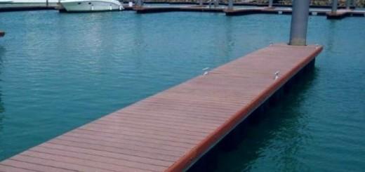 lemn terasa pentru pontoane si debarcadere