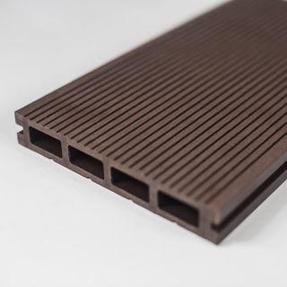 Pardoseala exterior compozit (deck WPC) culoare cafeniu, D-CWPC 2900x150x25 mm 15