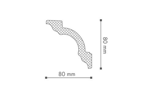 Profil tavan (cornisa), Nomastyl A1 2