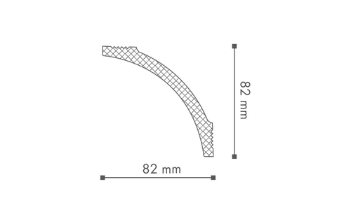Profil tavan (cornisa), Nomastyl B8 2
