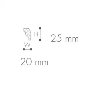 Profil tavan (cornisa), Nomastyl E 2