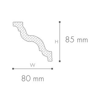 Profil tavan (cornisa), Nomastyl GR 2