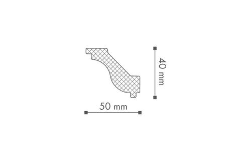 Profil tavan (cornisa), Nomastyl H 2