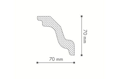Profil tavan (cornisa), Nomastyl K 2