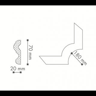 Profil curb tavan, Nomastyl N24 2