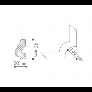 Profil curb tavan, Nomastyl O16 2