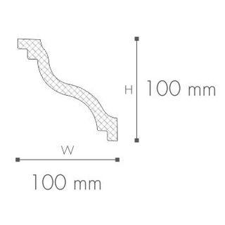Profil tavan (cornisa), Nomastyl SL 2