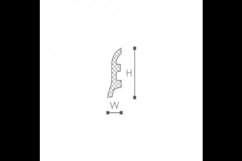 Plinta din plastic de inalta densitate FL3 2