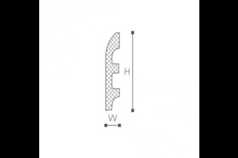 Plinta din plastic de inalta densitate FL5 2