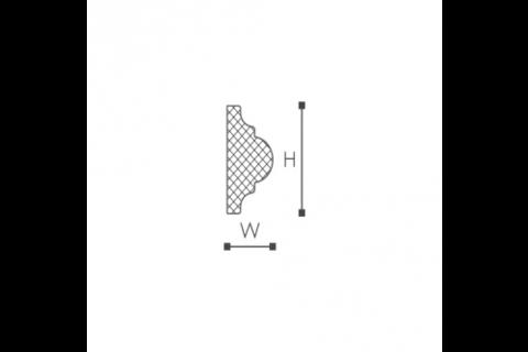 Brau din plastic de inalta densitate WO2 2
