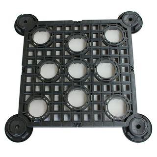 Dala din pin termotratat 60x60cm cu structura si picioruse reglabile incluse, DAL-PINT6060 3