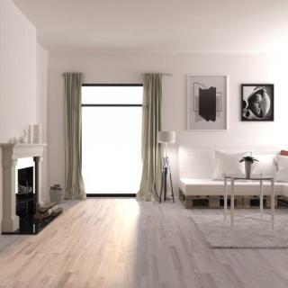 Parchet masiv stejar ABCD finisat albit, periat, 400-1200x150x18, MGPHRA090 (HERSOL-OAK900) 3