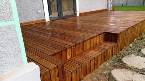 Deck din pin nordic termotratat, Lunawood, grosime 26 mm, DPTH 3000/4200x92x26 7