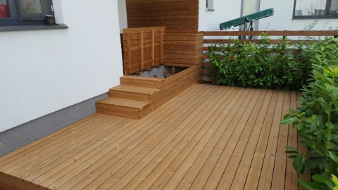 Deck din pin nordic termotratat, Lunawood, grosime 26 mm, DPTH 3000/4200x92x26 6