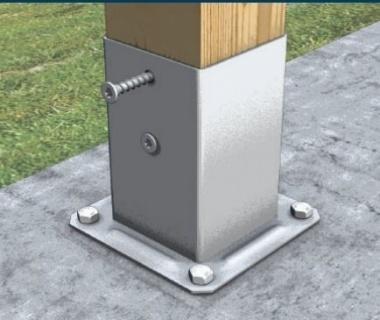 Surub Evo picior stalp, 8x60 mm, cod: KGL860C 2