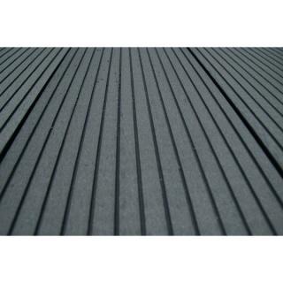 Pardoseala exterior compozit (deck WPC) culoare gri, D-GRWPC 2900x150x25 mm 7