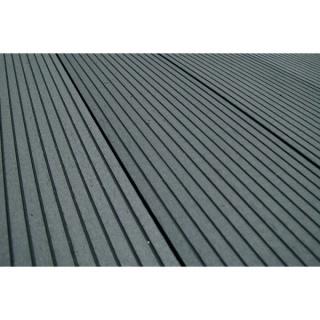 Pardoseala exterior compozit (deck WPC) culoare gri, D-GRWPC 2900x150x25 mm 6