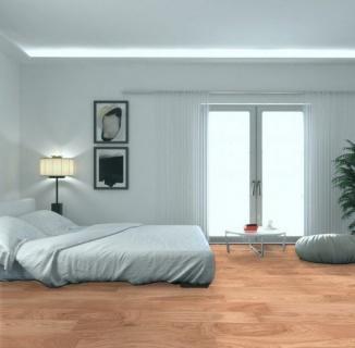 Parchet stratificat, stejar standard, lacuit, 11/4x90x900 mm, HERSTM-OAK020 2