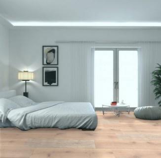 Parchet masiv stejar ABCD finisat albit, periat, 400-1200x150x18, MGPHRA090 (HERSOL-OAK900) 2