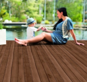Podele terasa (decking), frasin thermo, 1800x100x21mm 4