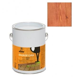 Ulei terasa lemn, la exterior, DeckOil Color, LOBA - Maro Roscat (cod: 800099) 1