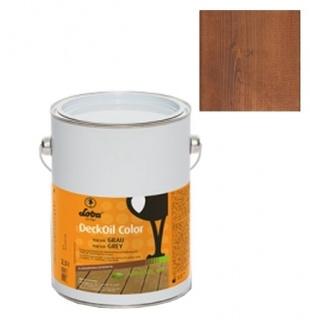 Ulei terasa lemn, la exterior, DeckOil Color, LOBA - Maro Inchis (cod: 800150) 1