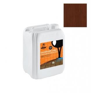 Lac terasa lemn, la exterior, DeckFinish Color, LOBA - Maro inchis (cod: L800150) 1