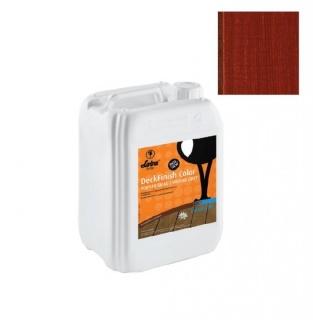 Lac terasa lemn, la exterior, DeckFinish Color, LOBA - Maro roscat (cod: L800099) 1