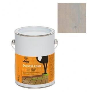 Ulei terasa lemn, la exterior, DeckOil Color, LOBA - Gri (cod: 900148) 1