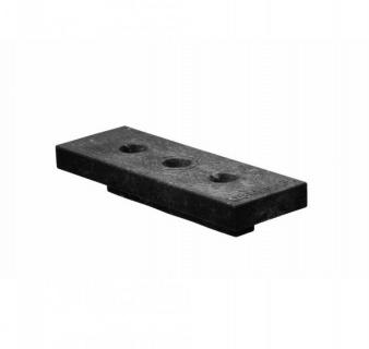 Clips WPC UPM Profi Deck Negru cu surub, 45mm lungime, (cod:55968/0403) 1