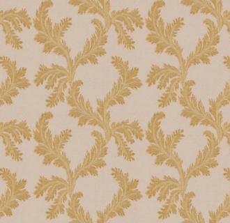 Tapet clasic floral bej cu auriu, Delen, cod Z72042 2